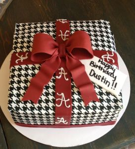 I'm sure this is for a birthday. Sure I know I'm showing a lot of bakery treats on here. But you have to go with what you have in this case.