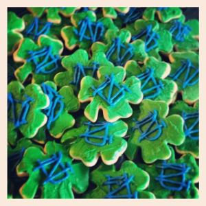 Given the shamrock shape, they're also great for Saint Patrick's Day. Hey, I'm just being honest here.