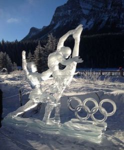 This was at the Alberta snow and ice festival in 2014. Vancouver had their Olympics that year.