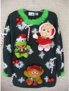 This one features Kermit, Miss Piggy, and Fozzie Bear. So adorable. Love it.
