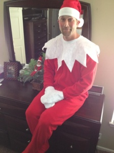 Though to be fair, the Elf on the Shelf thing is as creepy as hell. Maybe that explains why he does so many naughty things when parents and children aren't looking.
