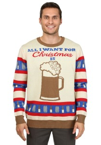 Not sure what that would mean if you want beer for Christmas. Might mean you have a problem.