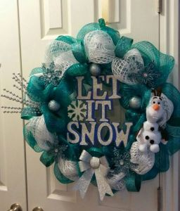 "After all, there's no better way to say ""Let It Snow"" than this. Even features Olaf."