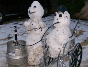 Drinking out of a keg? Yes, plenty party guys do it. But it's stupid and might cause you to black out drunk.