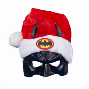 Of course, I have doubts on whether Batman embodies the Christmas spirit since he's not a guy filled with good cheer. Yet, if you want to wear it at a Christmas party, by all means.