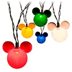 And they're available in several different colors. Yet, they all sport the iconic ears of Mickey Mouse.