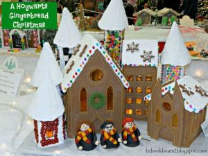 This one has the roof covered in snow. Even has Harry and his friends, too.
