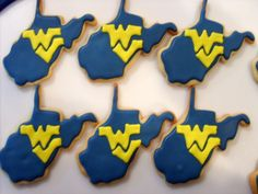 Helps that WVU is a treasured team in most of the state. And that it has the WVU logo.