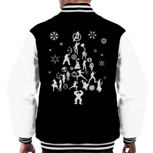 Well, this one has the Avengers assembled into one tree. And it's in the back of a jacket.