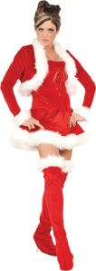 Yes, this is a sexy Mrs. Claus costume according to Pinterest. But at least it comes with a jacket.