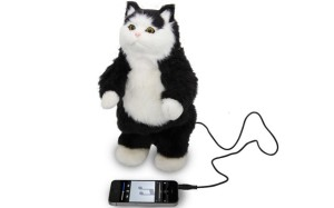 Sure a dancing cat speaker might be cute. But c'mon, would you really want a cat dancing to your favorite songs on your mp3 device? No.