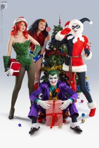 Then again, it's possible that Joker, Harley, and Poison Ivy have taken Wondy hostage. Still, she could handle it.