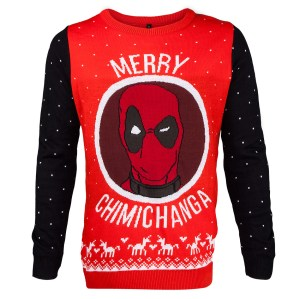 Guess Deadpool would like to celebrate the season his own way. Still, this is quite clever.