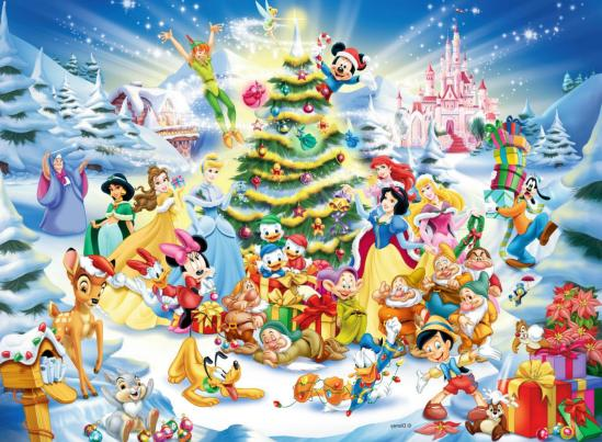 disney christmas eve tinkerbell tree mickey 1 wg