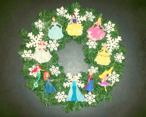 This one includes Disney Princesses with snowflakes. Surely you can't resist this.