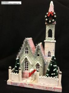 It even has Christmas trees and a shiny silver garland. What's more about this one to love?