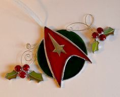 Speaking of holly, this even includes boughs of holly. Yet, the logo is in red and green in the spirit of the holidays.