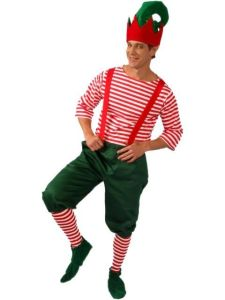 Yes, I know not many people wear suspenders these days. But this guy seems jolly.