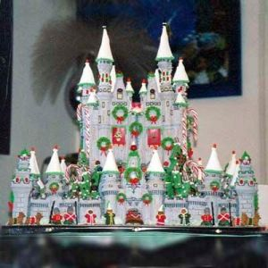 Yes, I show a lot of these. But this one seems to be a palace that's straight from the Nutcracker.