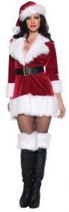 Yes, it's another female Santa dress. And yes, I've put up a few of them. But this is more standard.