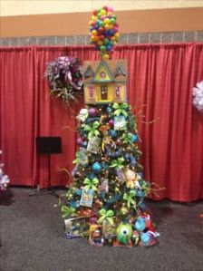 It even has a balloon house tree topper. Even has a lot of Pixar stuff on it, too.