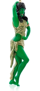 For nothing keeps the spirit of the season like a seductive green girl Kirk can't resist. This is more so in the reboot movies.