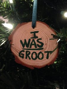 Not sure what to think about that. I mean Groot is a walking, talking tree in some respect.