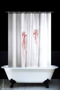 "As Refinery29 put it, it says: ""I really think we need to get the Bates Motel vibe going on in the bathroom — then we can relive the Psycho shower scene as part of our morning routine!"""