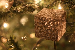 Because nothing says Christmas like a cube that's home to a race that assimilates people into their ranks and tries to destroy everything. Seriously, the Borg are among the most vile Star Trek bad guys for a reason.