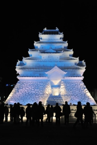 Well, it's certainly a stunning sight to see. But yes, this is a Japanese castle.