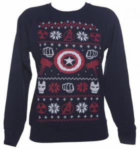 Great to wear if you want to watch Captain America: Civil War this holiday season. Though Thor and the Hulk aren't in it.