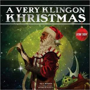 This is a parody of how Klingnons celebrate Christmas. And yes, it includes bad kids receiving tribbles from Santa instead of coal.