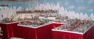 Yes, Christmas villages can be quite large and very elaborate. For people do go all out on these.