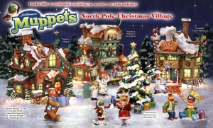 Yes, they have a Muppet Christmas village, too. And even Muppet figurines to match.