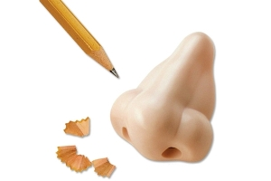 Now you can sharpen a pencil through the nostril. Guaranteed to freak out people you work or go to school with.