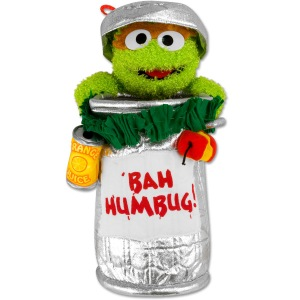 He even has his trash can decorated with well, garbage. Well, at least he recycles.