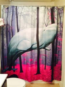 Of course, you might be experiencing an hallucination. Or looking at this shower curtain. If it's the former, go see your doctor.