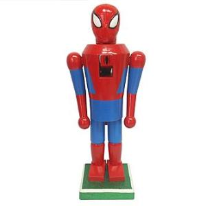 Yes, this is another Spider Man nutcracker. But this one looks different than the other one I showed.