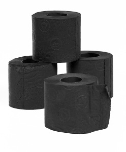 "From Dave Barry: ""Why would you give somebody black toilet paper? To answer that question, let's quote the Amazon Product Description: 'Black toilet paper will make a statement in any bathroom.' Ask yourself: Do you know anybody who would NOT want to make a statement in the bathroom? Neither do we! That's why we think you should give black toilet paper to everybody on your holiday list. It's that very special kind of gift that makes everyone say, 'I can't tell whether this has been used.'"""