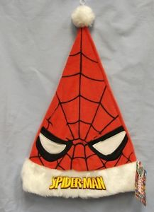 Well, it's a Santa hat that's red and has Spider Man eyes. Hope it goes with the webbed Santa suit.