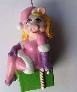 She's parodying many of the pinup images. Yet, I couldn't leave this ornament out.
