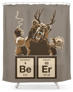 Yes, it's a bear with antlers. And yes, it's a takeoff on Breaking Bad. But at least this animal is brewing beer, not making meth.