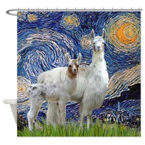 badass shower curtains. Or At Least A Backdrop Of Starry Night By Van Gogh. Yet, They May Badass Shower Curtains R
