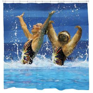 Yes, I know this looks pretty ridiculous. But c'mon, synchronized swimming is a joke.