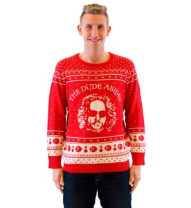 Apparently, they have a Christmas sweater for The Big Lebowski. In some respect, I kind of think it's out of their element.