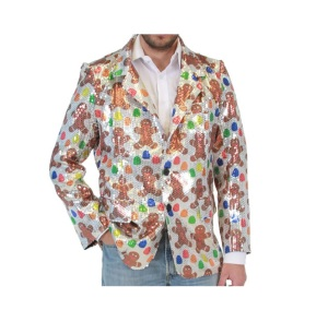 This one looks even worse. Surely worn by a guy who' should probably cut it on the eggnog.