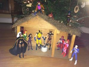 I don't seem to have a lot of X-Men Christmas stuff for some reason. I'm not sure why.