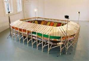 I'm sure this is most suitable for large parties on game day. But I really delight in the structure.