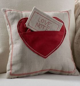 Because it should always have a love note in place. Still, both pillow and love note are made from the same materials.