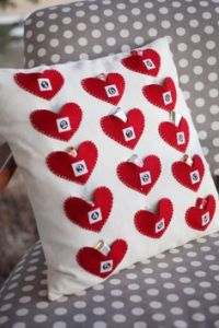 Well, it consists of 14 hearts with ribbons on them. Great for any Valentine's Day.